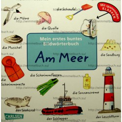 Mein erstes buntes Bildworterbuch: Am Meer