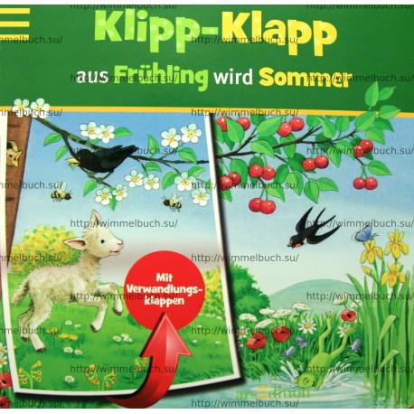 Klipp-Klapp aus Frühling wird Sommer