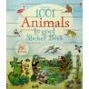 1001 Animals to Spot Sticker Book (Kartoniert)