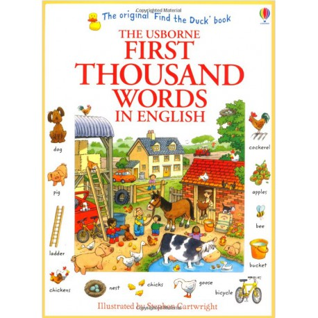 The Usborne First Thousand Words In English