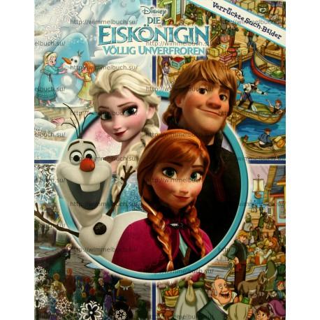 Die Eiskönigin - Suchbilder. Disney Verrückte Such-Bilder