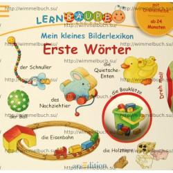 Mein kleines Bilderlexikon: Erste Wörter