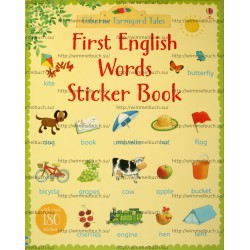 Farmyard Tales First English Words Sticker Book