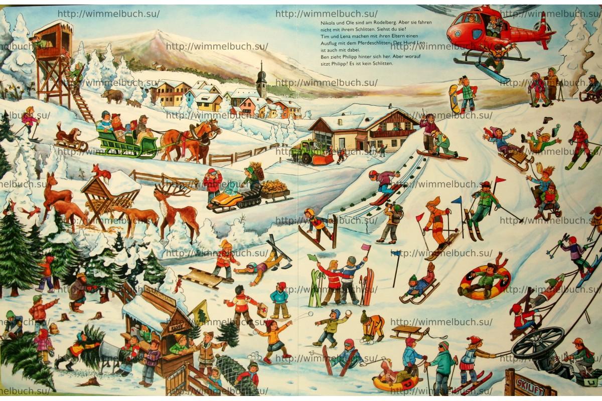 Mein großes Wimmelbilderbuch Weihnachten