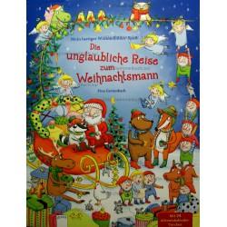 Mein lustiger Wimmelbilder-Spab. Die unglaubliche Reise zum Weihnachtsmann