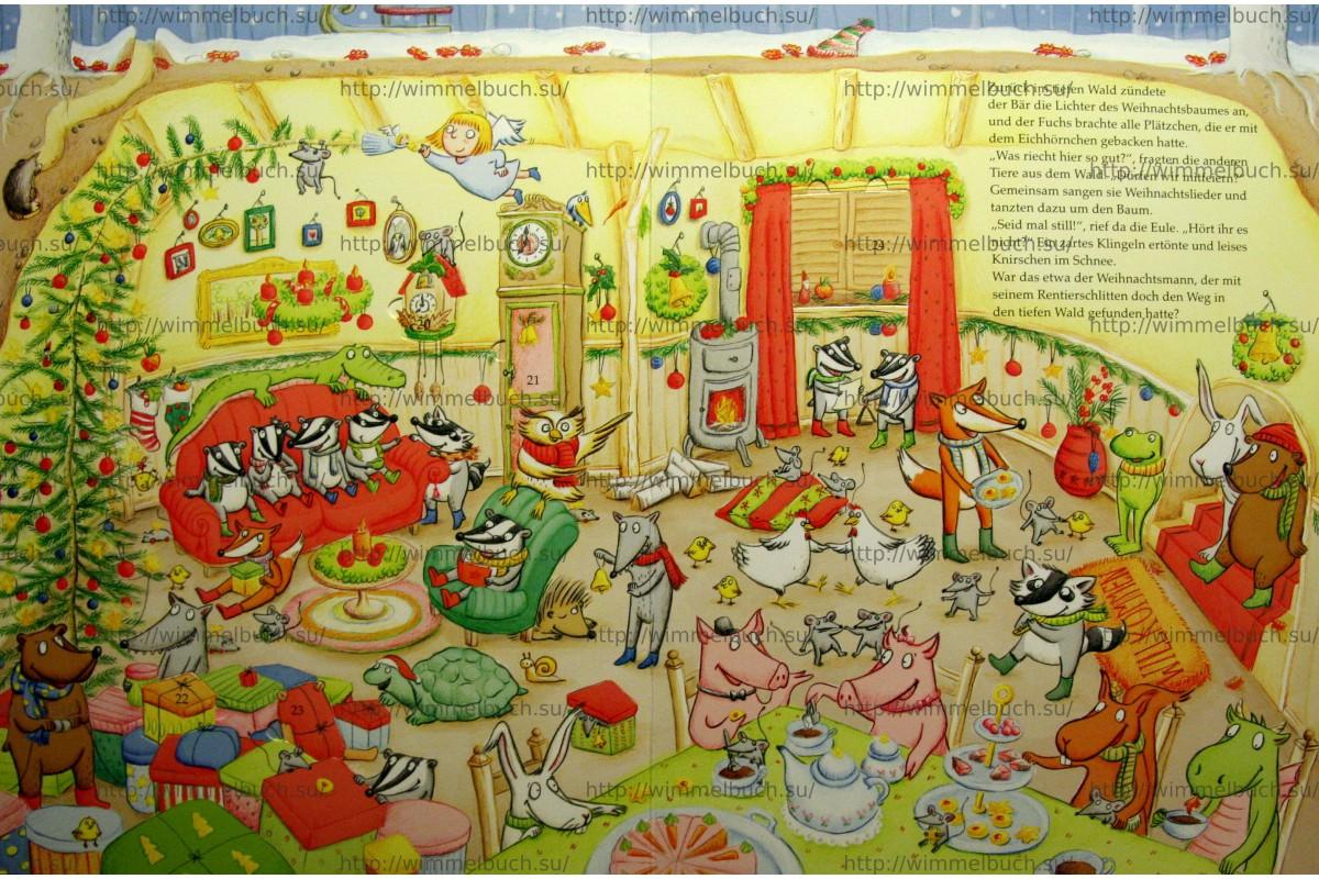 Mein lustiger Wimmelbilder-Spaß. Die unglaubliche Reise zum Weihnachtsmann