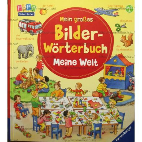 Mein großes Bilder-Wörterbuch: Meine Welt