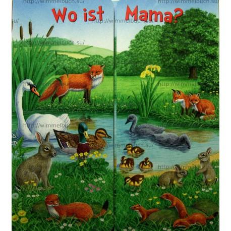 Wo ist Mama? Auf der Wiese