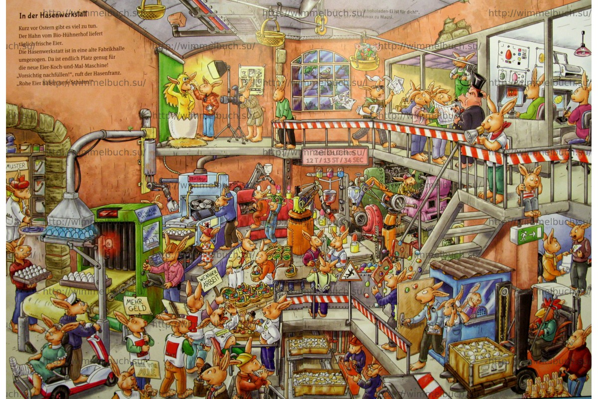 Das grobe Hasenfranz-Wimmelbuch