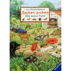 Mein Riesenbilderbuch Sachen suchen - Alle meine Tiere