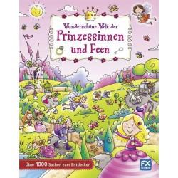 Wunderschöne Welt der Prinzessinnen und Feen