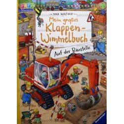 Mein grobes Klappen-Wimmelbuch: Auf der Baustelle