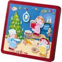 Magnetspiel-Box Weihnachtsbackerei HABA 301300 Магнитная Коробка