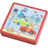 Магнитная игра Гонщик Magnetspiel-Box Flotte Flitzer HABA 301948