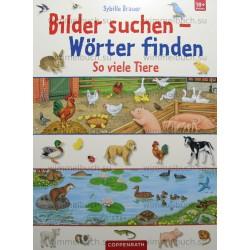 Bilder suchen–Worter find. So viele Tiere