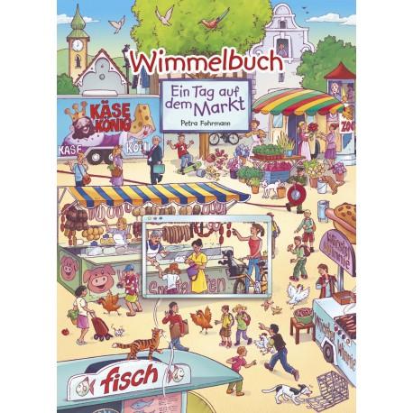 Wimmelbuch - Ein Tag auf dem Markt
