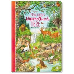 Mein grobes Wimmelbuch Tiere