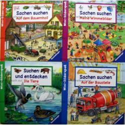Ravensburger Mini-Bilderspab. Комплект тонких книг