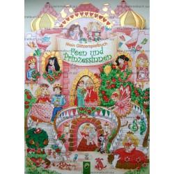 Mein Glitzerspielbuch Feen und Prinzessinnen