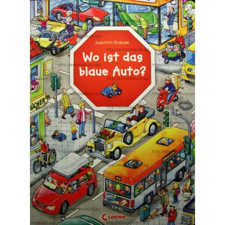 Wo ist das blaue Auto?