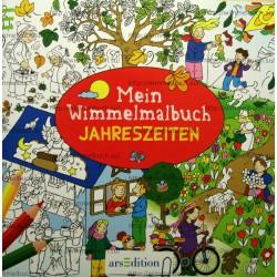 Mein Wimmelmalbuch Jahreszeiten